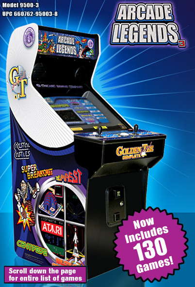 Arcade Legends 3 Birmingam Vending