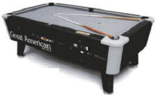 Great American Pool Tables Air Hockey Tables Birmingham Vending - 7 foot diamond pool table
