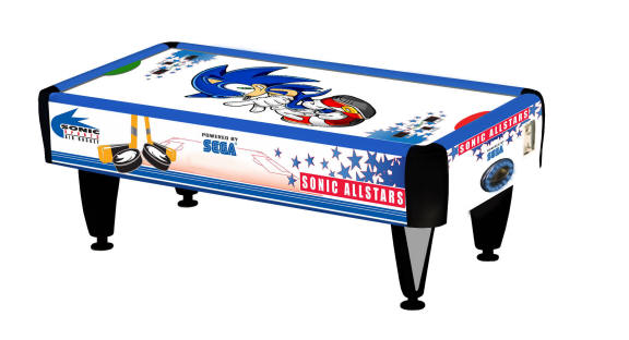 Iconic Sonic The Hedgehog Is Coming Our In A Brand New Sega Series Allstars Sports Along With Basketball Air Hockey