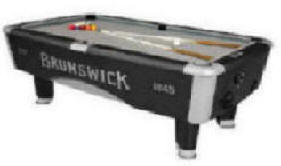 Commercial Coin Operated Pool Tables Birmingham Vending